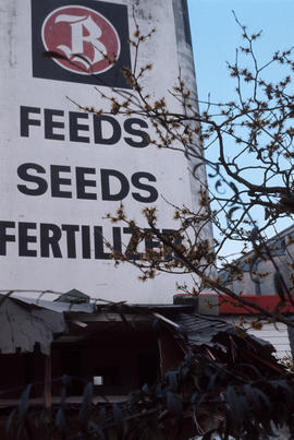 Feeds seeds and fertilizer