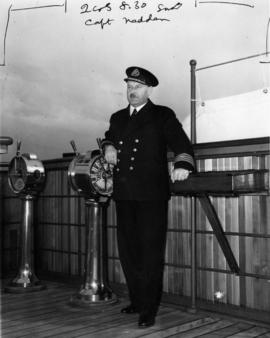 Captain H.E. Nedden, Commodore, Canadian National Steamships fleet