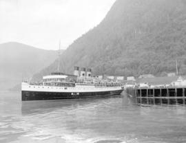 "C.P.S.S. ""Princess Kathleen"" at Ocean Falls"