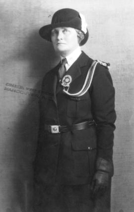 [Mrs. Fife-Smith in her Guide uniform]