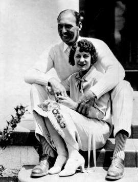 "Mr. and Mrs. Maurice B. ""Lefty"" Flynn"