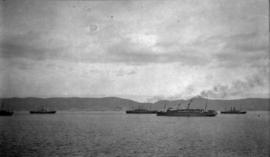 First Division C.E.F. [leaving Halifax in convoy]