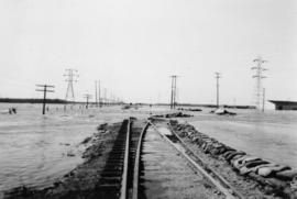 May 1950, CNR [Canadian National Railway] spur line to plant