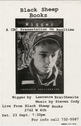 Black Sheep Books : a CBC presentation on realtime : wigger by Lawrence Braithwaite : music by St...