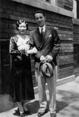1930 Chicago, Ruth and her husband