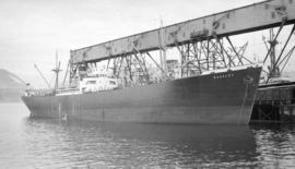 M.S. Rookley [at dock]