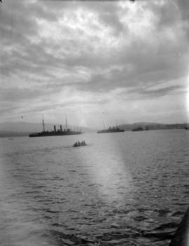 [Vancouver harbour, looking east]