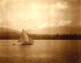 [Sailboat off Stanley park]