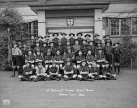 St. George's School Scout Troop - Spring Term 1943
