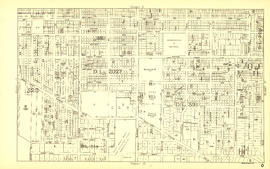 Sheet O : Holland Street to Elm Street and Thirty-eighth Avenue to Forty-ninth Avenue