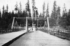[Stanley Park  entrance bridge]