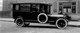 "Hearse - Armstrong and Hotson - ""18"" Studebaker 6 cyl."
