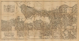 Map of Vancouver, B.C. including Hastings Townsite and D.L. 301