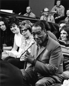 "Duke Ellington as special guest for Vancouver Variety Show ""In The Round"""