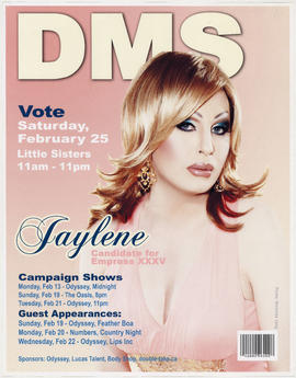 DMS [Dogwood Monarchist Society] : vote Saturday, February 25 [at] Little Sisters : Jaylene, cand...