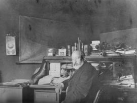 W.C. Van Horne [at desk]