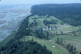 [Aerial view from helicopter] - Shaughnessy Golf Club House