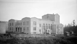 [University of British Columbia auditorium under construction]