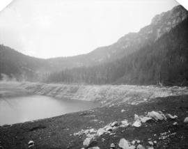 [Construction of reservoir at Burwell Lake]