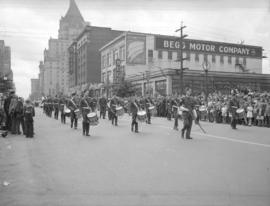 Jubilee Parade [showing a view looking east along Georgia Street]