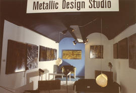 Metallic Design Studio display of art