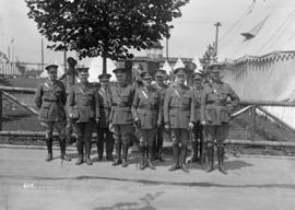 Military 72nd, soldiers in Hastings Park