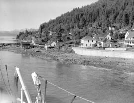 [Buildings along waterfront Wrangell, Alaska]