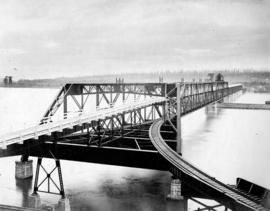 [A view of the completed bridge]