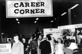 """Career Corner"" displays"
