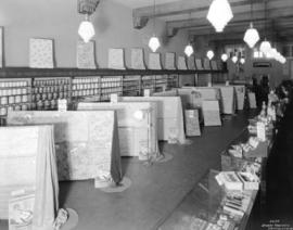 Hunter-Henderson Paint Company wallpaper display