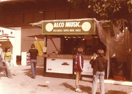Alco Music Ltd. Booth on grounds