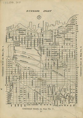Sectional map and street directory of Vancouver : [Nanaimo Street to Alexander Street to Ontario ...