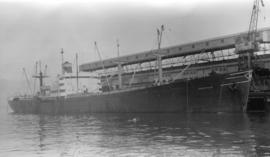 S.S. Iberville [at dock, at Ballantyne Pier]