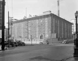 [B.C. Electric Railway Co. Ltd. City Substation water construction]
