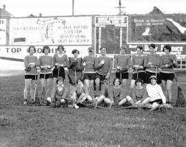 [Women's lacrosse team, Vancouver Pirates vs. Richmond Milkmaids]