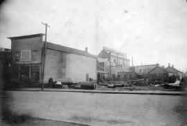 [Exterior of N. Thompson and Co. Engineers and Machinists - 136 Alexander Street (Keefer's H...