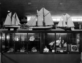 Display of model ships at P.N.E. Hobby Show