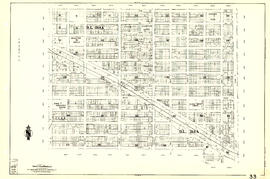 [Sheet 33 : Clark Drive to Nanaimo Street and Thirteenth Avenue to Second Avenue]