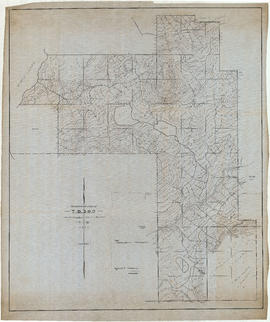 Topographical map of T.B. 590