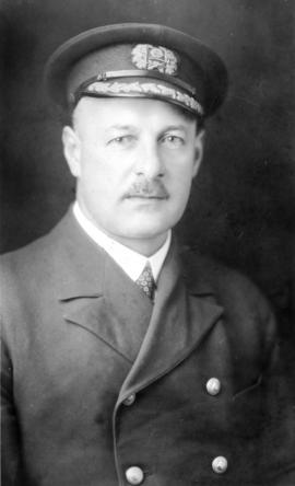 Capt. H.E. Nedden, Canadian National Steamships