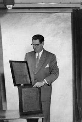 Ivan Ackery with Motion Picture Herald Grand Award