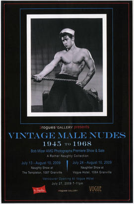2rogues Gallery presents Vintage Male Nudes : 1945 to 1968 : Bob Mizer AMG photographs premiere s...