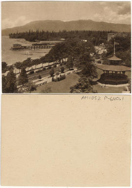 Alexandra Park & English Bay, Vancouver, B.C.