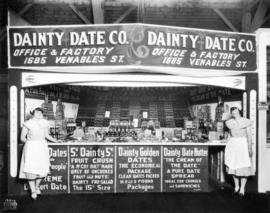 Dainty Date Co. display