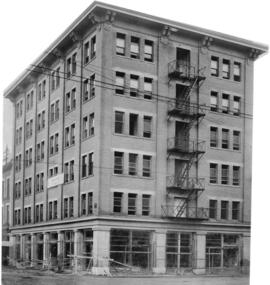 Columbia Hotel [under construction at 78 East Cordova Street (now 303 Columbia Street)]