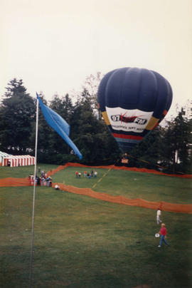 Hot air balloon at Canada Day Festival