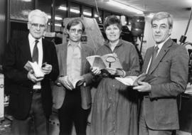 """Exploring Vancouver's Past"" publishing group 1985"