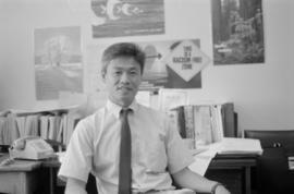 Race relations consultant Eric Wong