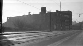 Ramsay's [Biscuit Factory - S.W.] Corner [Powell St. and Raymur Ave.]