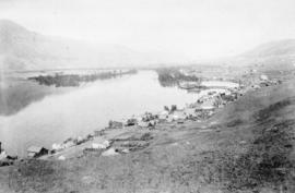[View of Kamloops looking east]